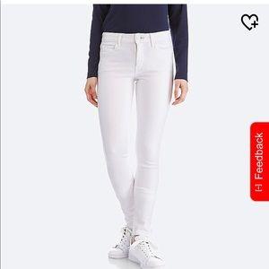 Uniqlo White Denim Jeans